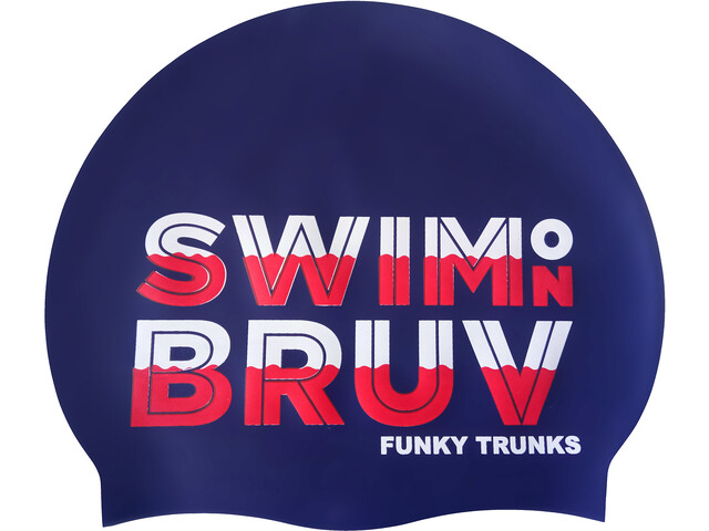 Funky Trunks Silicone Bonnet de bain, swim on bruv